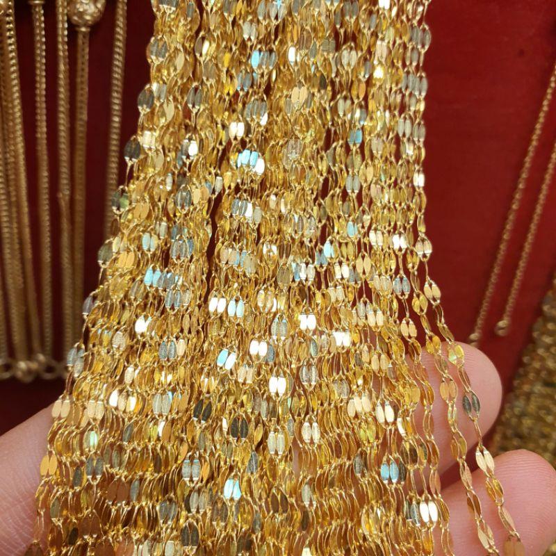 👍✅💯❖✗∏Flash Sale สร้อยคอทองครึ่งสลึง มีหลายลาย ตามตัวเลือก หนัก 1.9 กรัม ทองคำแท้96.5%