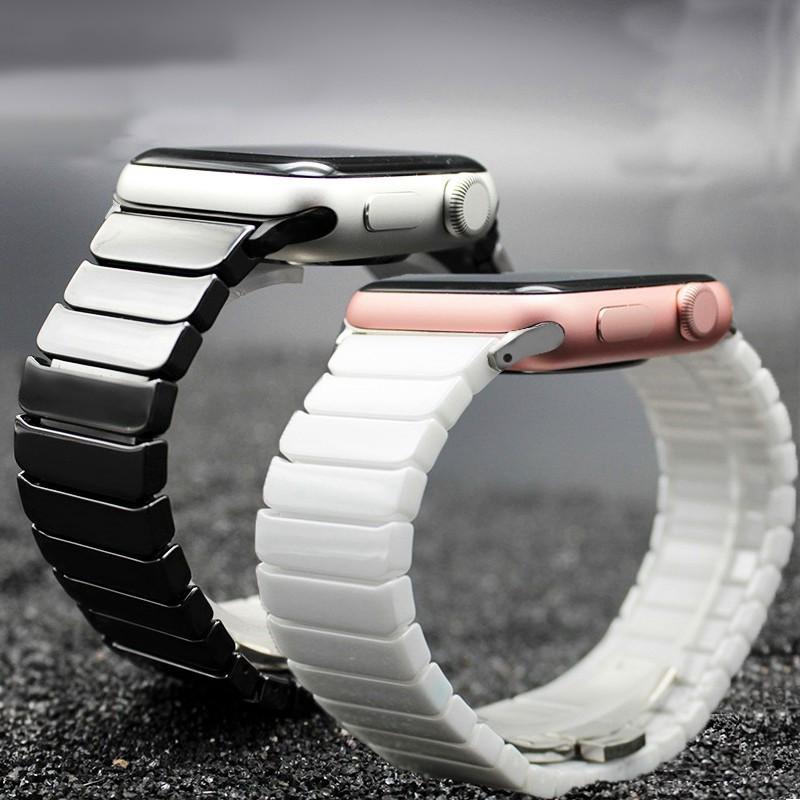 【การจัดส่งที่รวดเร็ว】สายสแตนเลสสตีล 38/42 มม. สำหรับ Apple Watch series 3 2 1 สายรัดข้อมือสำหรับ iwatch 5 4 40 / 44mm correa apple watch อุปกรณ์เสริม