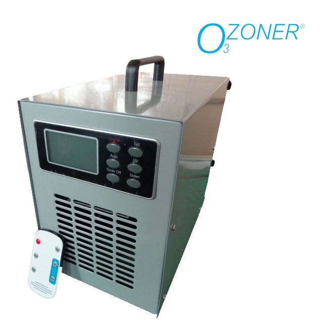 เครื่องผลิตโอโซน รุ่น OZONER- 008 (OZONE GENERATOR) สำหรับกำจัดกลิ่นและฆ่าเชื้อโรค