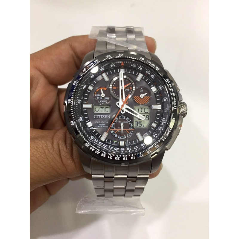 Citizen Eco-Drive Redio Controlled Promaster Sky Super Skyhawk Men's Watch JY8069-88E