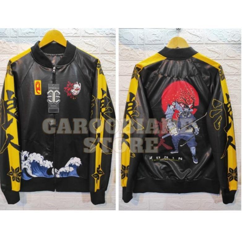 (Art. 92853) เสื้อแจ็คเก็ตพิมพ์ลาย Sukajan Jacket Like Original 100% แบบเต็มหน้าจอ