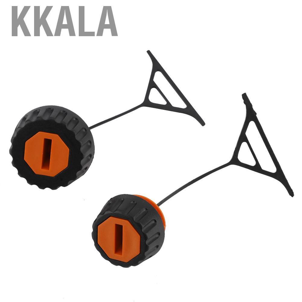 Kkala ฝาปิดน้ํามันเชื้อเพลิง 2 ชิ้นสําหรับ Stihl 028 038 020 021 023 024 025