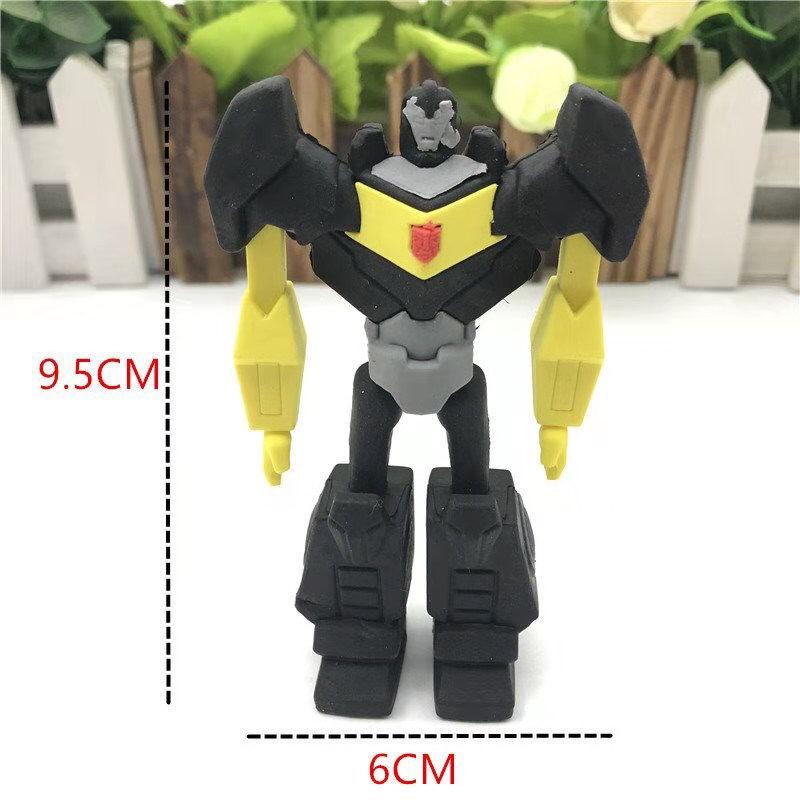 เครื่องเขียน เช็ดทำความสะอาด ยางSuper Large Transformers ยางลบยางลบหุ่นยนต์ยางลบที่ถอดออกได้ของขวัญสำหรับเด็กผู้ชาย