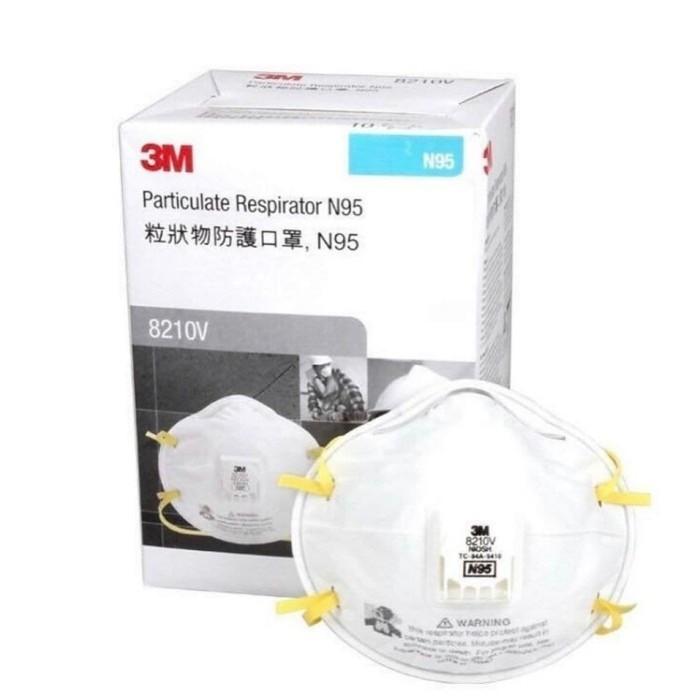 3m N95 Particulate Respirator Mask 8210v (10Pcs / Box) LIiT