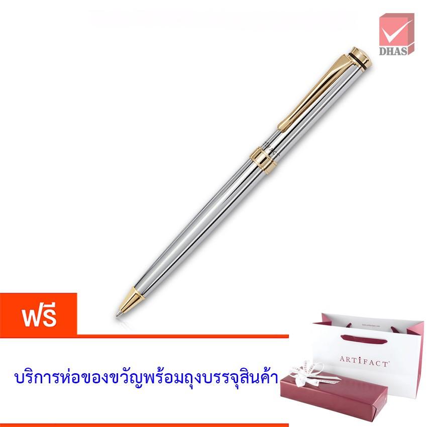 Artifact ปากกา ปากกาลูกลื่น ไอคอน โครม/ทอง จำนวน 1 ด้าม