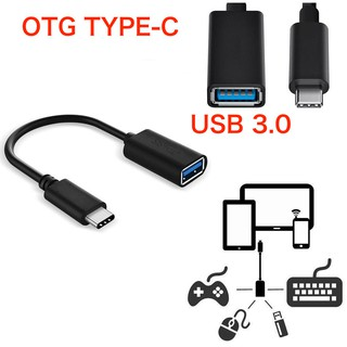 Review USB 3.1 Type C Male USB-C to 3.0 Type A Female OTG Host Adapter Convertor Black