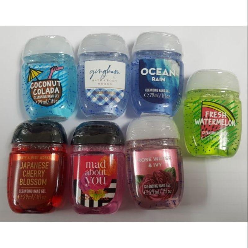 Bath & Bodyworks Cleansing hand gel 29ml เจลล้างมือน้ำหอม