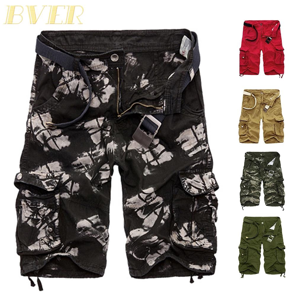 Camo Shorts Military Army Pants Combat Sports Men/'s Cargo Overall Summer Casual