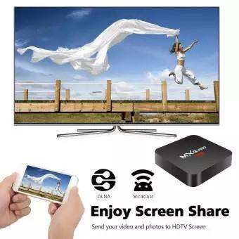 กล่องทีวี MXQ PRO 4K Android 7 1 Quad Core Smart TV Box HDMI WiFi TV Media  Streamer
