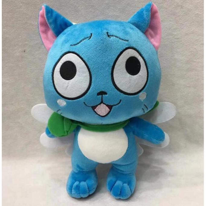 Image # 3 of Review ตุ๊กตาของเล่น Anime Fairy Tail Happy Doll ขนาด 25 ซม.