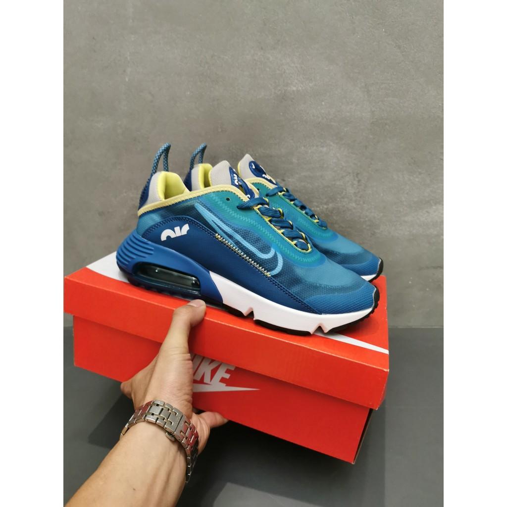 Nike Air Max 2090 รองเท้าลำลองรองเท้ากีฬาสำหรับผู้ชายและผู้หญิง Ride เวอร์ชั่นเกาหลี