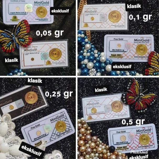 มินิทอง 0.1 กรัมกรัม (code Q963) ราคาถูกที่สุด