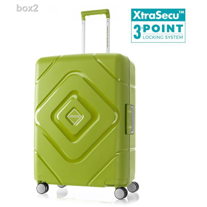 ผลิตภัณฑ์ใหม่✶❣❧American Tourister กระเป๋าเดินทาง (24นิ้ว) รุ่น TRIGARD SPINNER 66/24 TSA