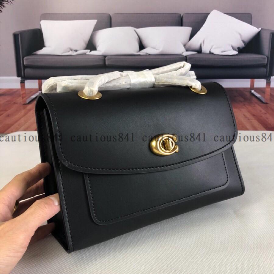 [MB]กระเป๋าสะพายข้าง Coach F26852 Girls Plain Flip Girls Bag Handbag Coach Shoulder Bag Diagonal Bag Side Backpack