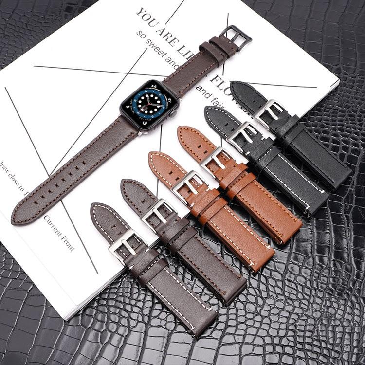 เคสนาฬิกา applewatchบังคับแอปเปิ้ล6สายหนังนาฬิกาapple watch123456สายหนังรถสายเดี่ยวสายนาฬิกาapplewatch