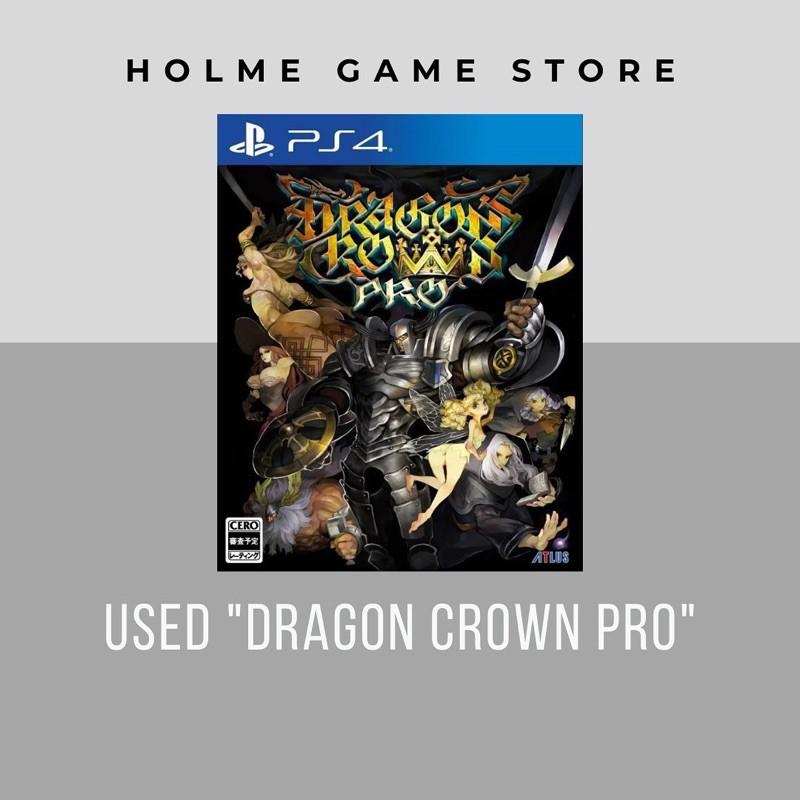 (มือสอง) Dragon Crown Pro  PS4 Playstation4 Used game แผ่นเกมส์มือสอง