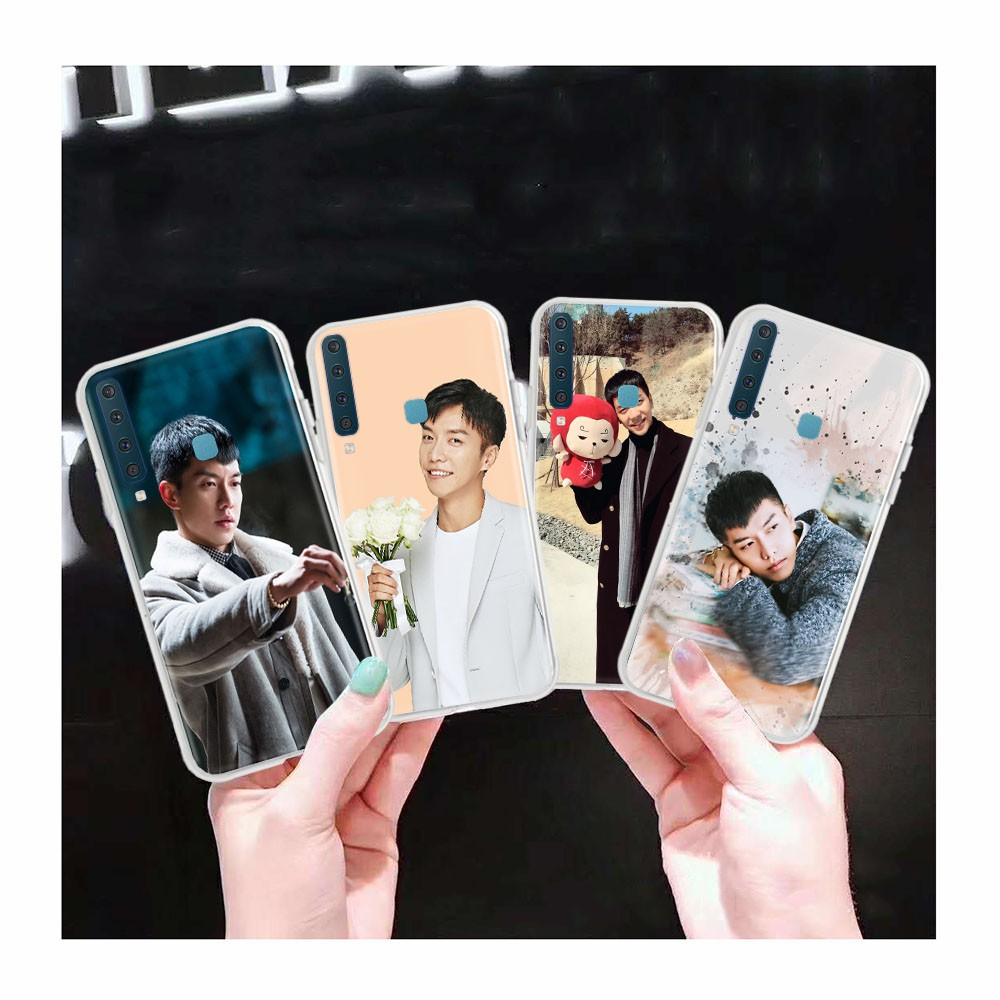 AT67 Lee Seung Gi Transparent Case for Samsung Galaxy Note 8 A6 Plus A8 Star A9 Pro