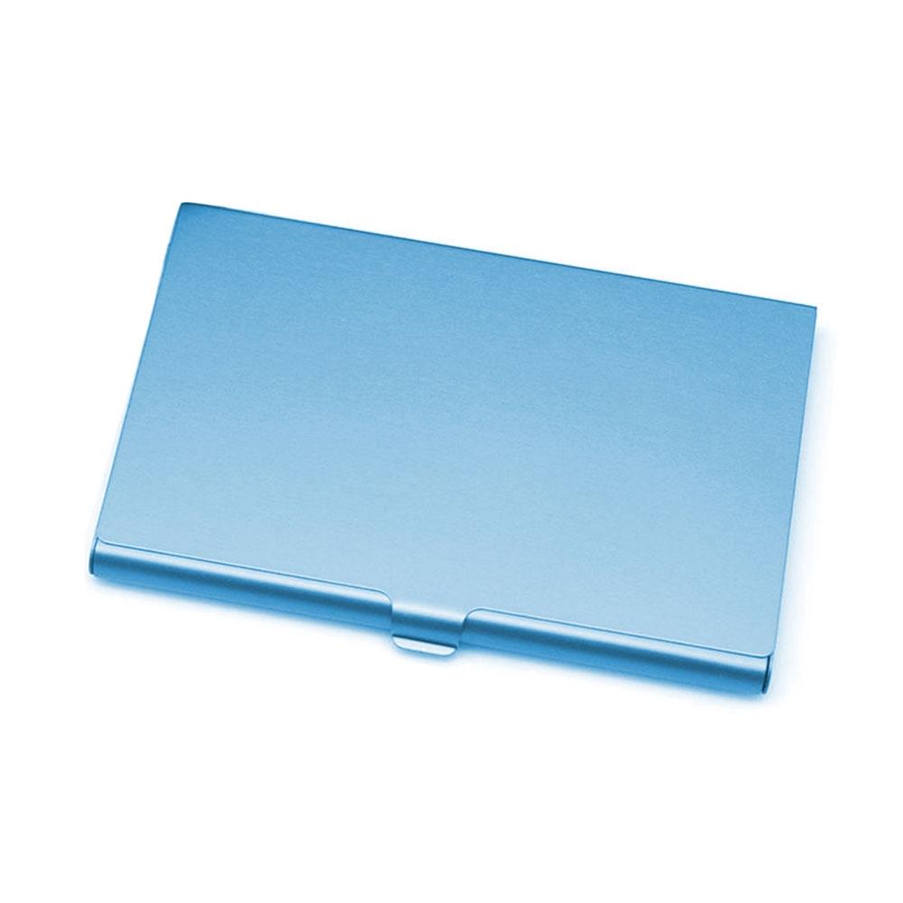 Aluminium Legierung Visitenkartenetui Metall Box Hülle Kreditkarteninhaber