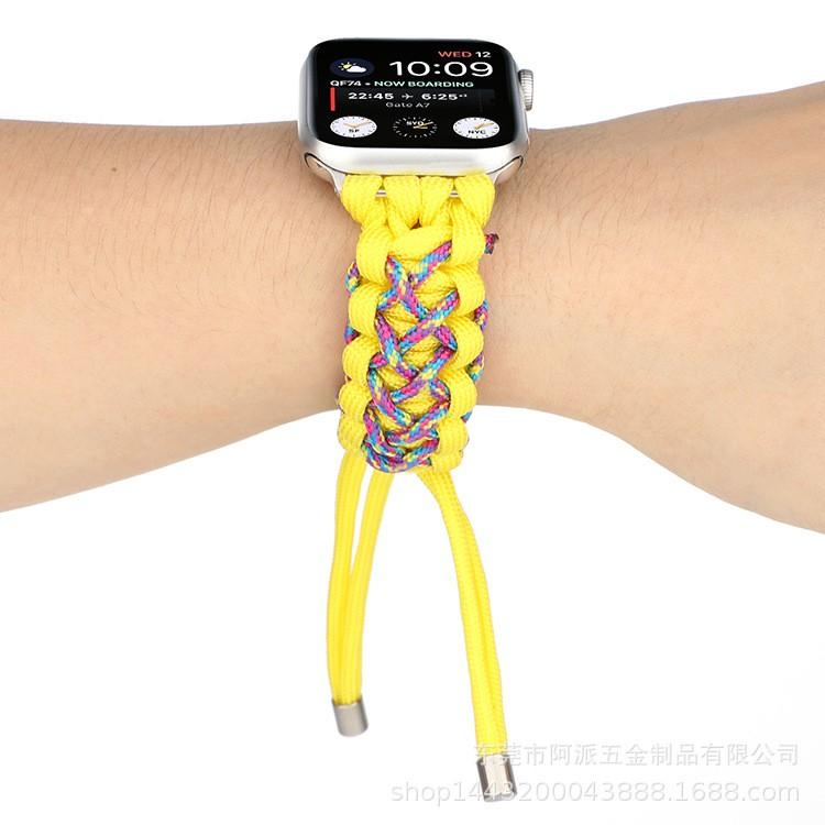 สายเชือกไนล่อนถักสําหรับ Apple Watch