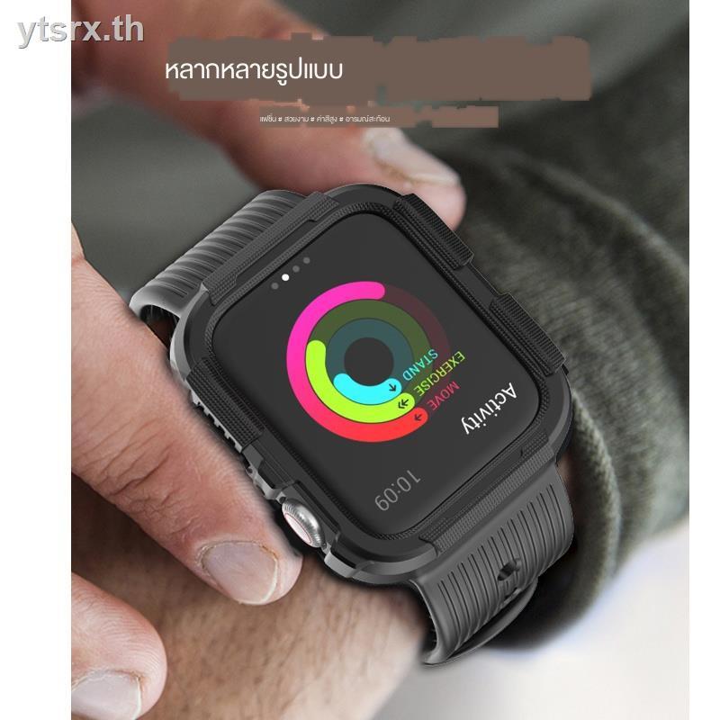 เคสAirPods1/2 Case Airpods caseFashion tpu caseSuitable for Apple Watch iwatch6 protective shell ultra-thin all-inclusive cover applewatchSE 5/4/3/2/1 strap 44mm silicone s6 film tide brand men and women 40