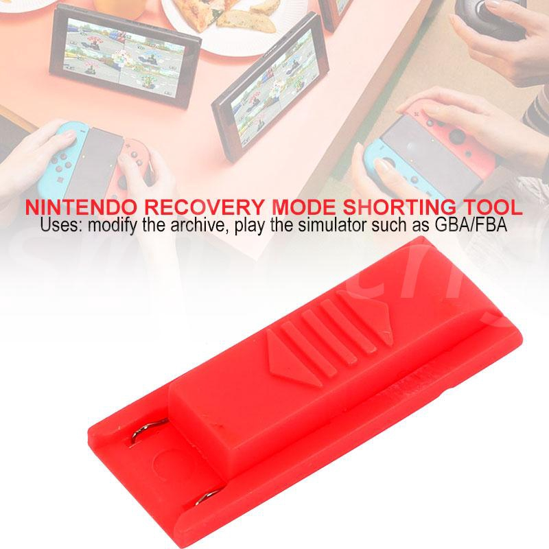 YX RCM Jig RCM Joy-Con Jig, Portable NS SX PRO OS Red Archive Modification  Crack Tools for Nintendo Switch