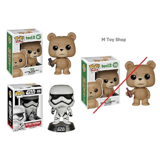 Funko POP Movies Ted 2-Ted avec bière Figurine en vinyle marron