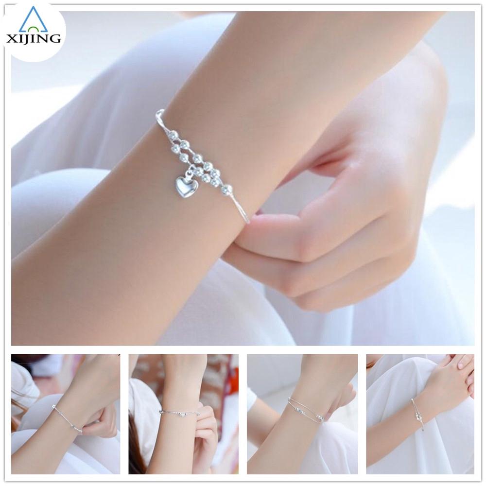New Men Women Fashion Bear Series 06 Chain Bracelet Bangle Charm Jewelry Gift