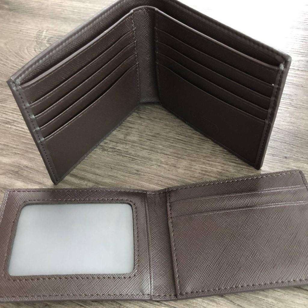 ♀กระเป๋าสตางค์ใบสั้น มาพร้อมกระเป๋าใส่บัตรใบเล็กอีก 1 ใบ COACH_Heritage Signature Compact ID Wallet  (งานแบรนด์แท้) REG8