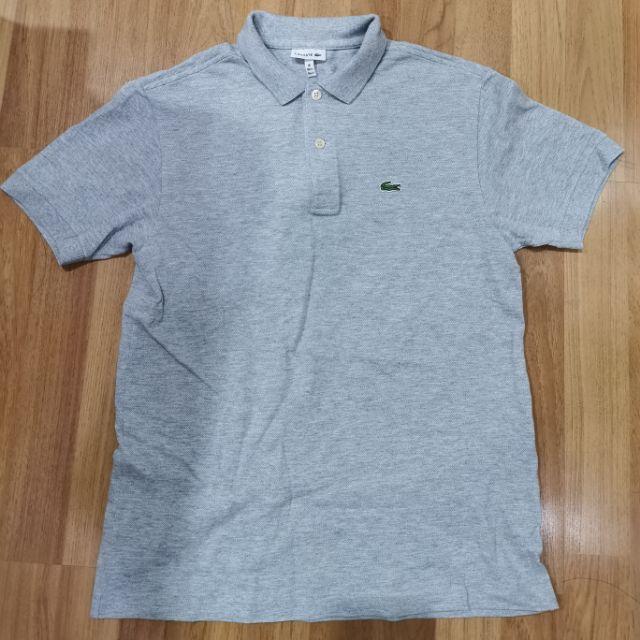 Lacoste เสื้อยืดโปโลไซน์ 16 เด็กโต มือสองสภาพใหม่มากๆๆของแท้ 💯