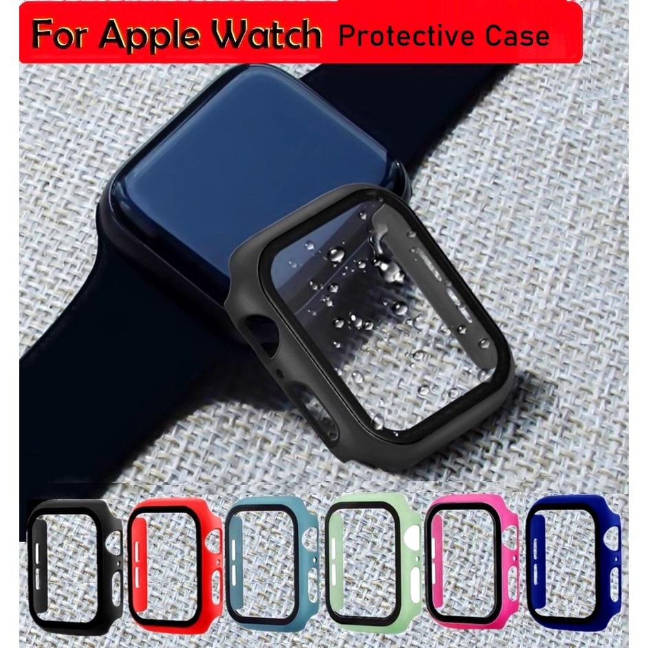 เคส applewatch Series 7 6 5 4 3 2, Apple Watch SE iWatch 41มม 45มม 38 มม. 40 มม. 42 มม. 44 มม. เคส apple watch Case
