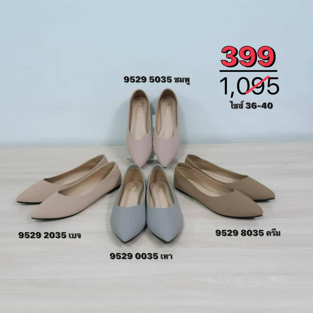 SEA Shoes รองเท้าคัชชูหัวแหลม 9529-035