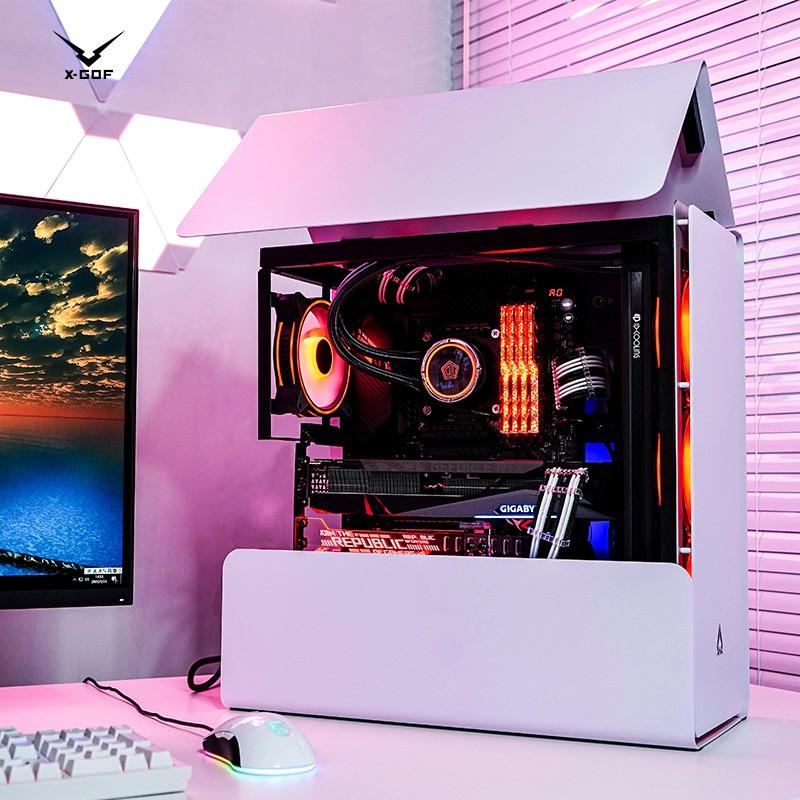 Azza 808 I 710700 K I 9 10900 K Rtx 3080 3090 การ์ดระบายความร้อนคอมพิวเตอร์