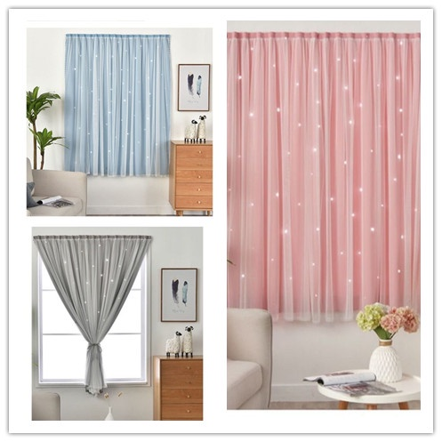 DUBE  ผ้าม่านหน้าต่าง ผ้าม่านประตู ผ้าม่าน UV สำเร็จรูป กั้นแอร์ได้ดี และทึบแสง กันแดดดี ติดแบบตีนตุ๊กแก จำนวน 1ผืน
