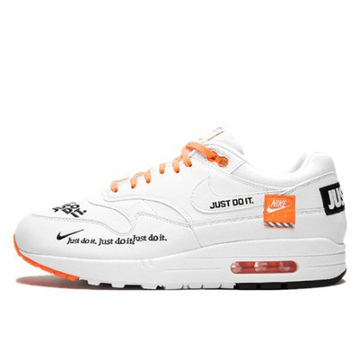 Nike Air Max 1 Just Do It AF1 รองเท้าผ้าใบสำหรับบุรุษและสตรี