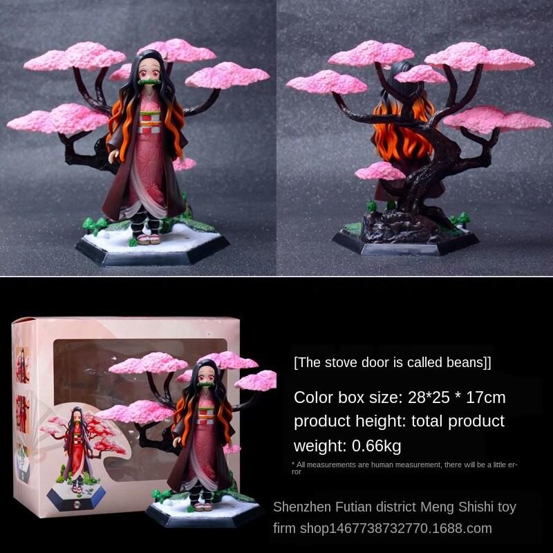 ❈✜19CM Demon Slayer action figure GK Nezuko / Agatsuma Zenitsu Kochou Shinobu collection gift