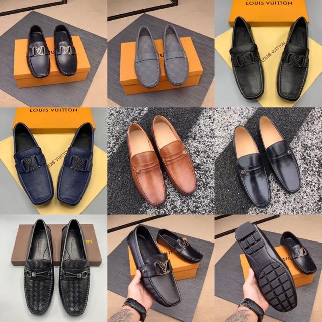 รองเท้าคัชชูเกรดHIEND 1:1 หนังแท้🎖👍🏼 สลับแท้ Full set เอกสารครบ งานหนังแท้❗️ถ่ายจากงานจริง👍🏼💕