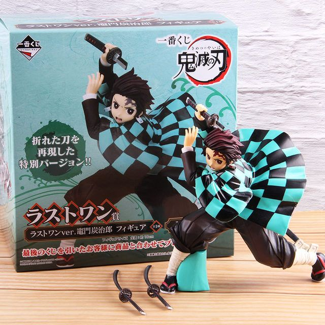 🔥Ichiban Kuji Demon Slayer Kimetsu No Yaiba Kamado Tanjirou / Nezuko PVC Figure Collectible Model Toy
