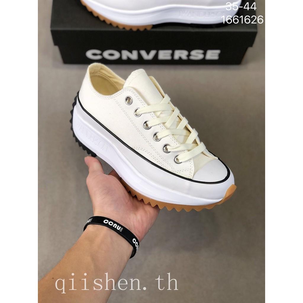 สินค้าลิขสิทธิ์แท้ Converse RUN STAR HIKE HI Increased รองเท้าลำลอง รองเท้ากีฬา ผ้าใบรองเท้า