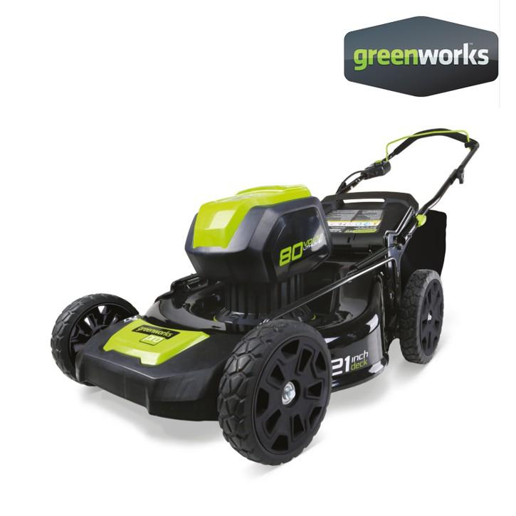 Greenworks รถตัดหญ้าเดินตามแบตเตอรี่ 80V (เฉพาะตัวเครื่อง) (2500707-1)