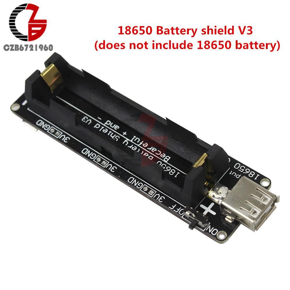 Hot Deal ESP32 ESP32S 18650 Battery Shield V3 Expansion