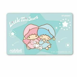 Rabbit Card- Little Twin Star for Student