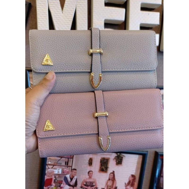 กระเป๋าสตางค์เศรษฐีคุณกิ่ง KK Brand รุ่นสายสอด#3
