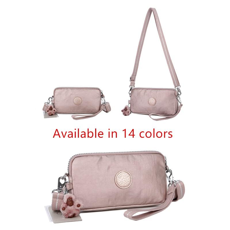 Promo Kipling-13226 กระเป๋าคลัชท์ กระเป๋าสะพาย สายคู่ และสายเดี่ยว สำหรับผู้หญิง.