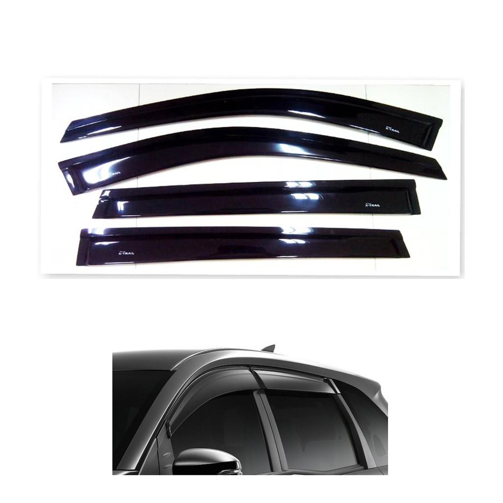 กันสาด นิสสัน เอ็กซ์เทรล Nissan X-trail 2015 สีดำ