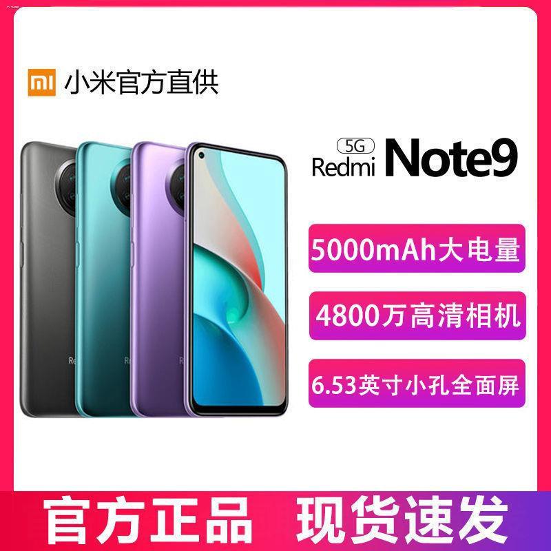 ✼Redmi Note 9 Redmi note9 5G Dimensity 800U กล้องพันหยวน สมาร์ทโฟน โทรศัพท์มือถือ เครื่องนักเรียน
