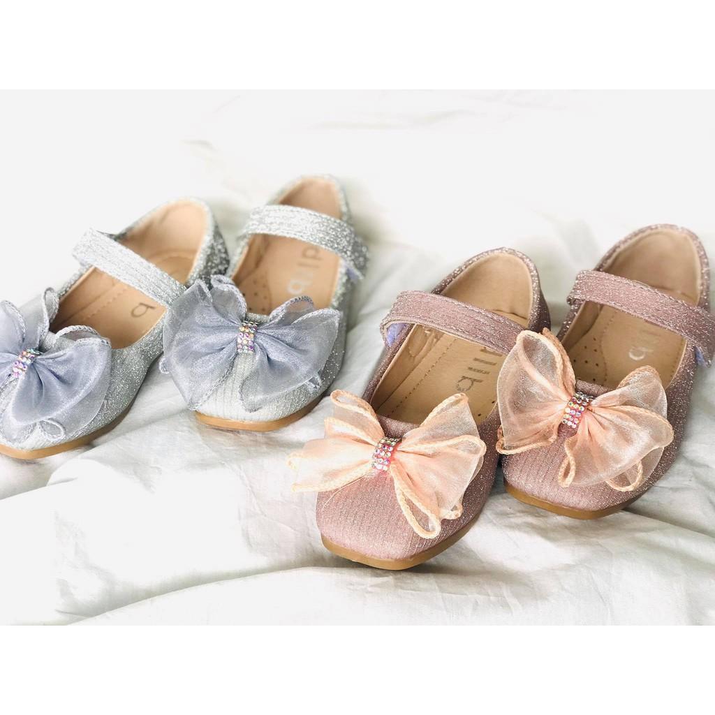 รองเท้าเจ้าหญิงเด็ก  รองเท้าคัชชูออกงานสวยๆ