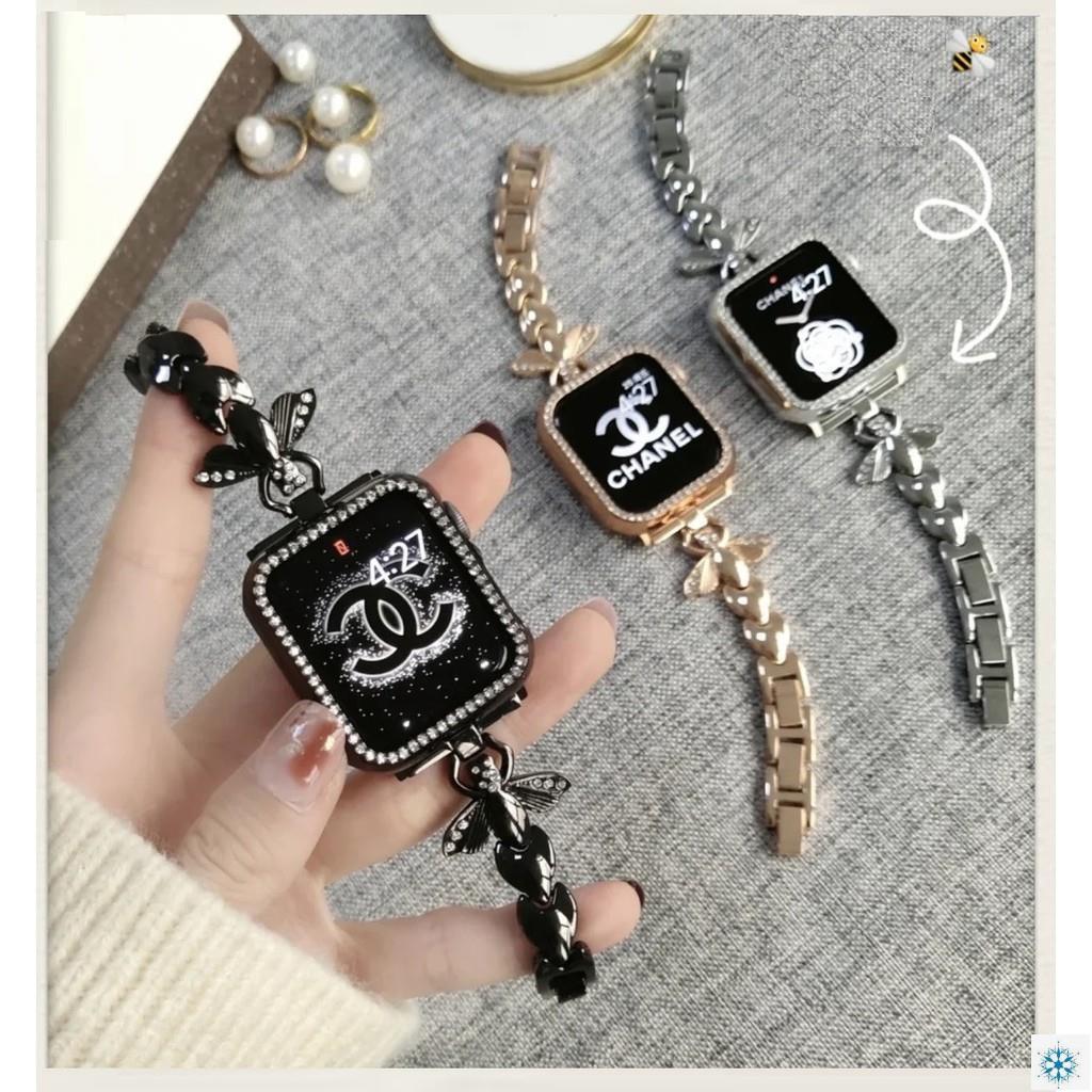 สายนาฬิกาข้อมือสแตนเลส Apple Watch Strap Honeybee Series 6 5 4 3 2 1, Apple Watch Se Iwatch Series6,series4 4มม. 38มม. 42มม. 42มม. สําหรับ Apple Watch