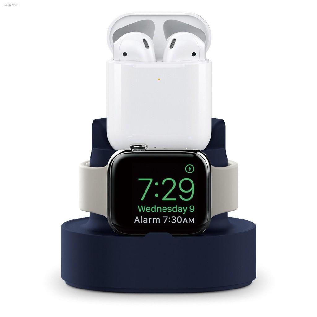 【hot】▪แท่นชาร์จอเนกประสงค์ของ AppleWatch ฐานแท่นชาร์จสองในหนึ่งเดียวสำหรับโทรศัพท์มือถือ Apple Watch