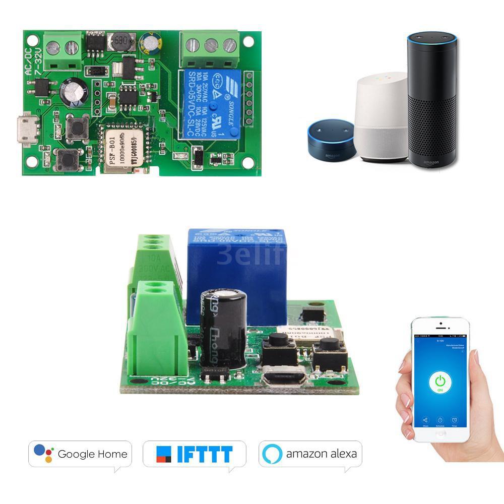 Sonoff DC5V 12V 24V 32V Wifi Switch 2ch 7-32v