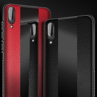 เคสสำหรับ Huawei P 20 PRO / p20 Lite / p20 Lite / p20 เคสหนัง + กระจกด้านหลัง